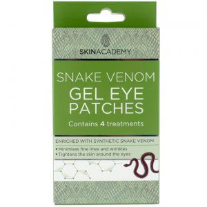 Skin Academy Gel Eye Patches SNAKE VENOM