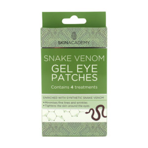Skin Academy Gel Eye Patches – Snake Venom