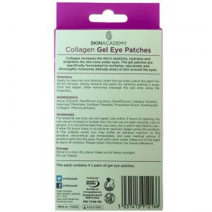 Skin Academy Gel Eye Patches COLLAGEN