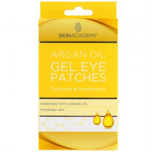 Skin Academy Gel Eye Patches ARGAN OIL