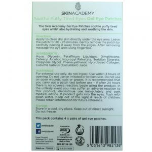 Skin Academy Gel Eye Patches SOOTHE TIRED EYES