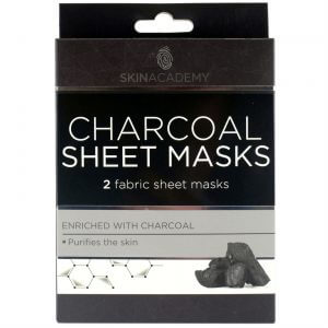 Skin Academy Sheet Mask CHARCOAL