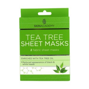 Skin Academy Sheet Mask – Tea Tree