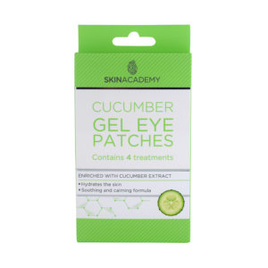 Skin Academy Gel Eye Patches – Cucumber