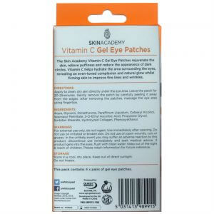 Skin Academy Gel Eye Patches VITAMIN C
