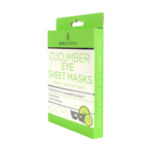 Skin Academy Eye Sheet Mask – Cucumber