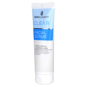 Skin Academy Clear Facial Scrub – 75ml