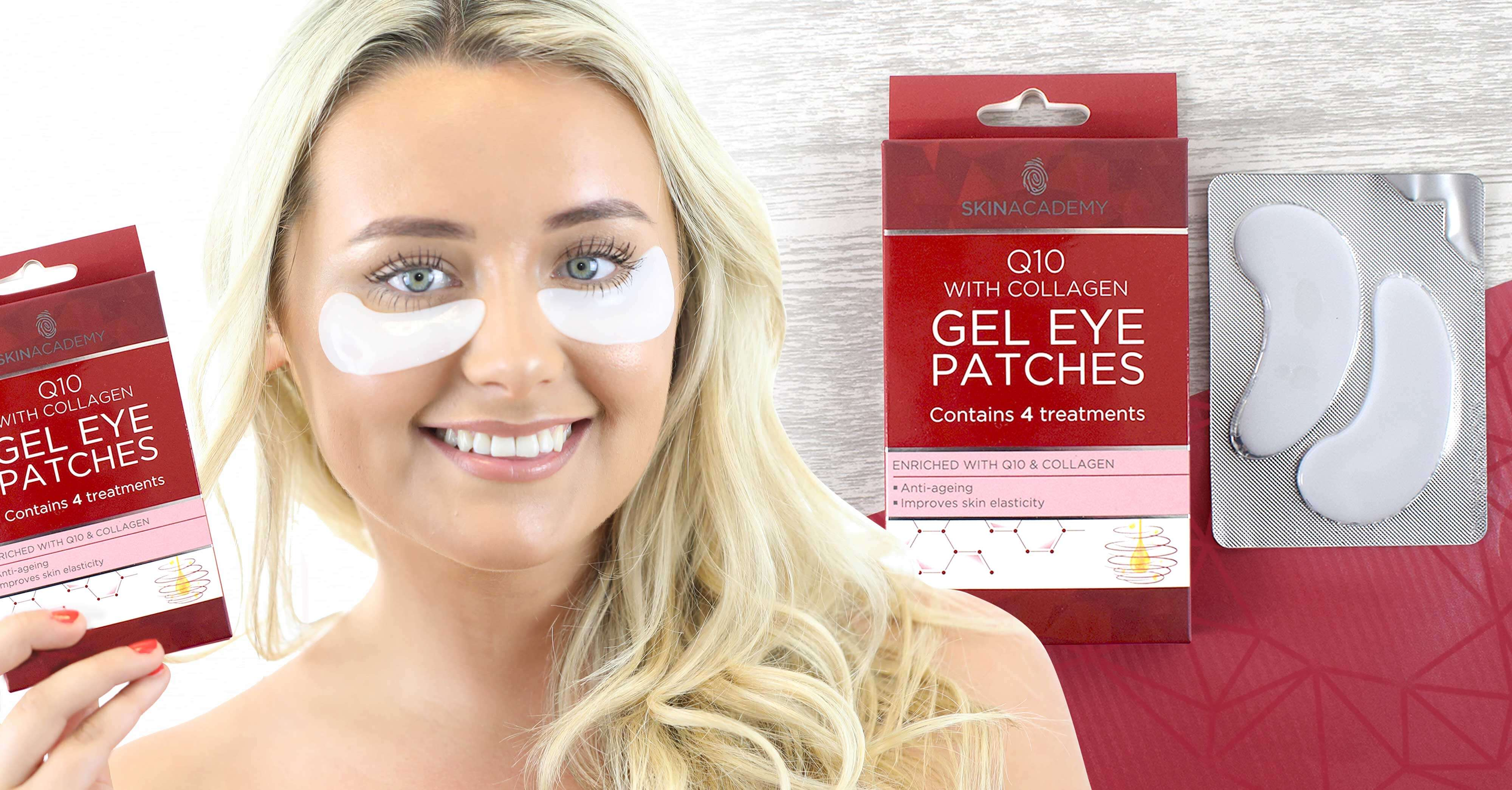 Gel Eye Patches Q10 Skin Academy ISA Mobile