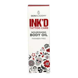 Skin Academy INK'D Tatoo Care Oil – 75ml